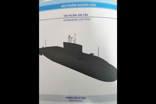 Theo tờ IndoPacific News, loại tàu ngầm này được cho là đang được Việt Nam nghiên cứu và phát triển thậm chí còn chưa có định danh và chỉ được gọi là