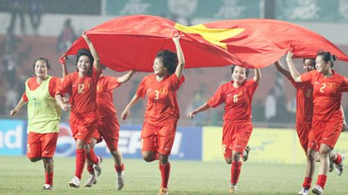 Bóng đá nữ Việt nam qua các kỳ Sea Game