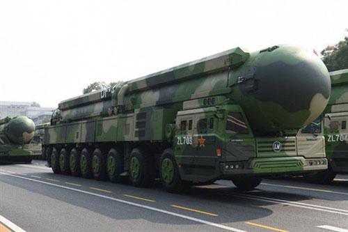 Tên lửa đạn đạo liên lục địa DF-41 của Trung Quốc có tốc độ nhanh nhất thế giới
