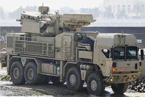 Hệ thống Pantsir-S1 của UAE.