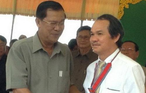 Bầu Đức nhận công trạng ở Campuchia