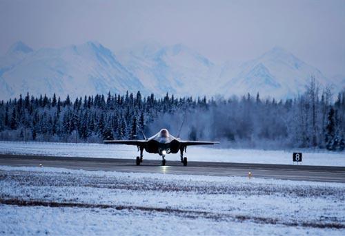 Mỹ sai lầm khi đưa F-35A không chịu được rét tới Bắc Cực