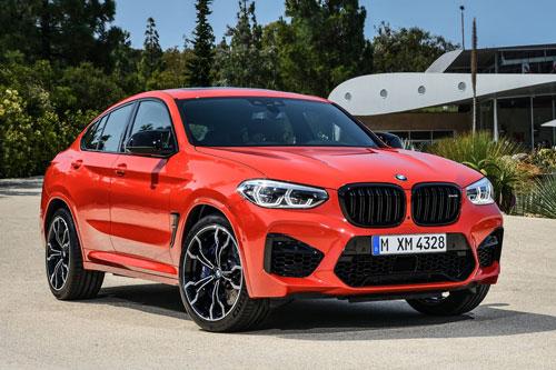8. BMW X3 M và X4 M.