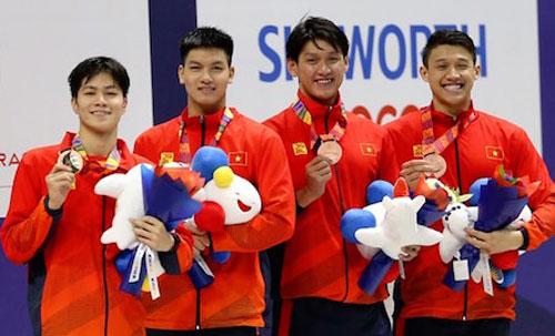 Việt Nam giành huy chương lịch sử ở nội dung tiếp sức 4x100m TD nam