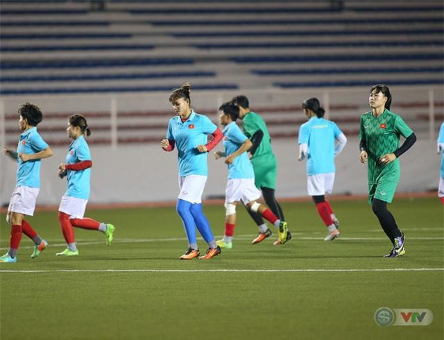 ẢNH: ĐT nữ Việt Nam rèn quân, quyết thắng Thái Lan trận chung kết SEA Games 30 - Ảnh 14.