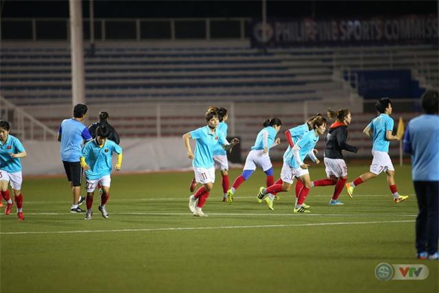 ẢNH: ĐT nữ Việt Nam rèn quân, quyết thắng Thái Lan trận chung kết SEA Games 30 - Ảnh 5.