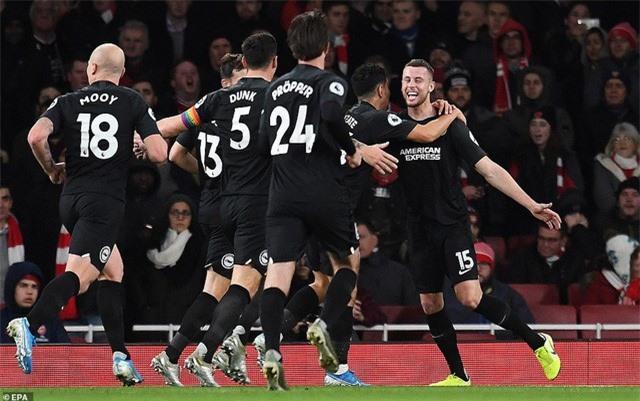Arsenal 1-2 Brighton: Trận thua thất vọng - Ảnh 1.