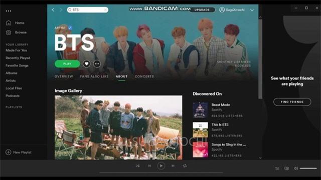 BTS cán mốc 3 tỉ lượt stream trên Spotify trong năm 2019 - Ảnh 1.