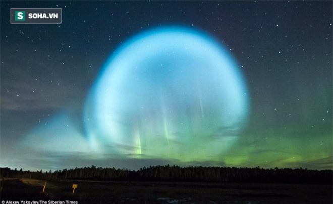 Bí ẩn quả cầu UFO khổng lồ phát sáng ở Sibaria: Cổng thời gian mở ra hay người ngoài hành tinh? - Ảnh 1.