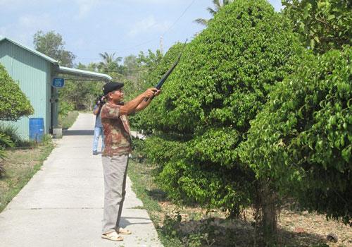 Đời sống người dân xã Khánh Tiến được nâng cao từ khi xây dựng NTM