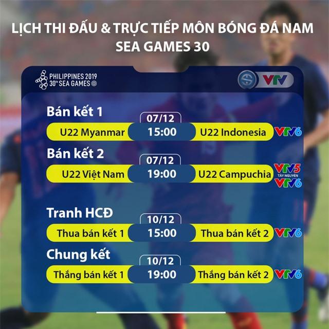 SEA Games 30: U22 Việt Nam tích cực tập luyện chuẩn bị cho trận bán kết - Ảnh 2.