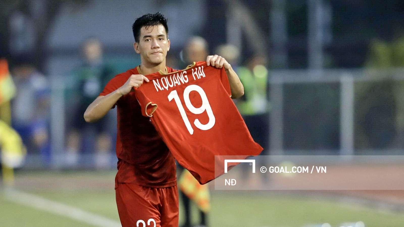 Bàn thắng của Tiến Linh giúp U22 Việt Nam giành một điểm quan trọng, chiếm ngôi đầu bảng B và đoạt vé vào bán kết