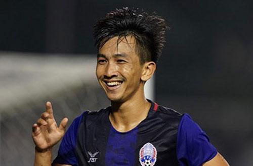 Ông Park: 'Tiền đạo gốc Việt Keo Sokpheng là chủ bài của U22 Campuchia'