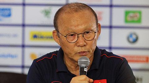 HLV Park Hang Seo: 'Chúng tôi không phải đội xấu, không làm việc do thám Campuchia'