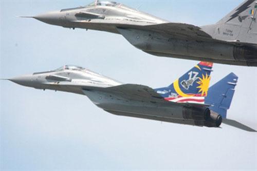 Tiêm kích hạng nhẹ MiG-29N của Không quân Hoàng gia Malaysia