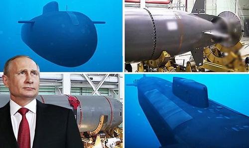 """Nga có thể ngừng phát triển """"vũ khí ngày tận thế"""". Ảnh: TASS."""