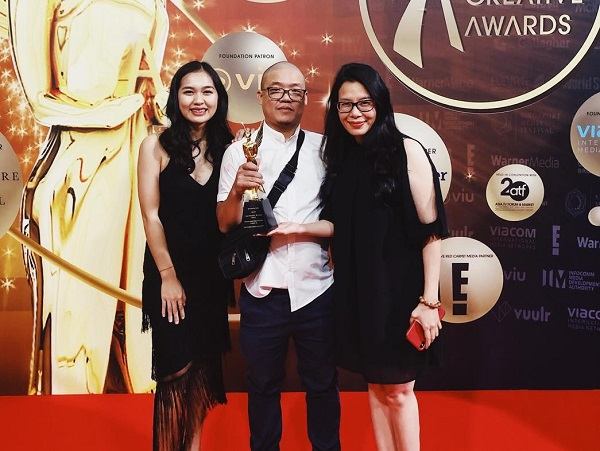 Trailer Ngoại hạng Anh của K+ được giải thưởng Hàn lâm sáng tạo châu Á