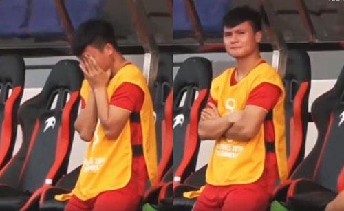Tiền vệ Quang Hải tỏ ra nuối tiếc khi giang giở Sea Game 30