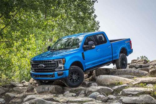 2. Ford F-Series (doanh số: 875.194 chiếc).