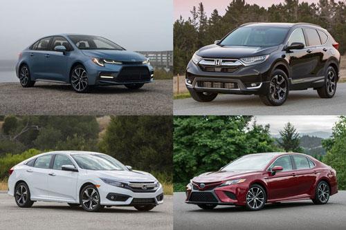 Top 10 ôtô bán chạy nhất thế giới: Toyota Corolla dẫn đầu, Honda CR-V thứ 5