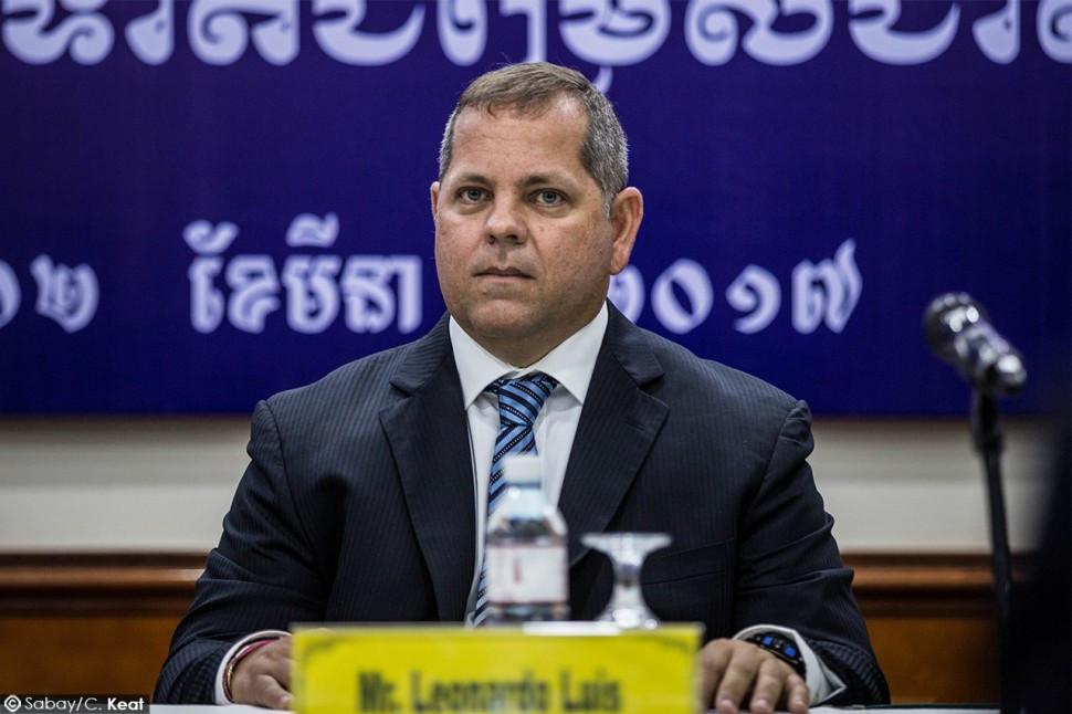 HLV Leonardo Vitorino không tin U22 Campuchia có thể đánh bại được U22 Việt Nam.
