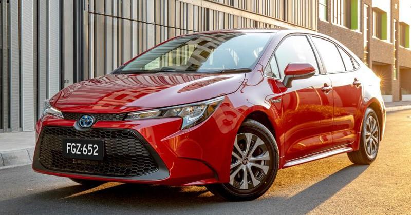 Toyota Corolla 2020.