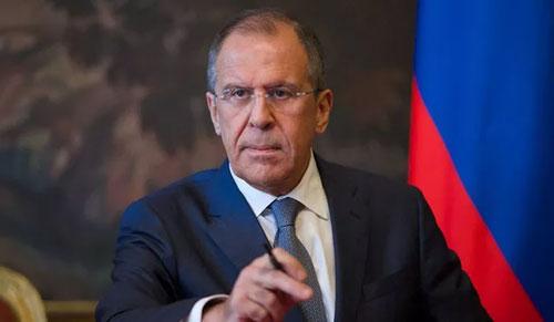 Ngoại trưởng Nga Sergei Lavrov. (Ảnh: Reuters)