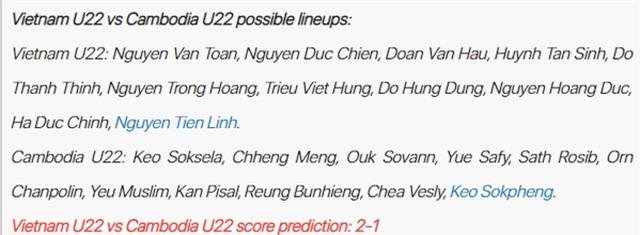 Báo châu Á dự đoán Văn Toản tiếp tục bắt chính ở U22 Việt Nam - 2