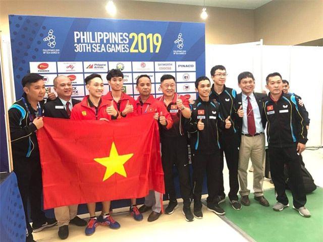 Bóng bàn Việt Nam giành tấm HCV lịch sử ở SEA Games 30 - 1