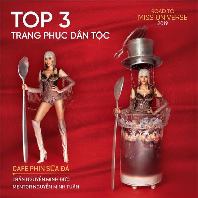 """Hoàng Thuỳ trình diễn """"Café phin sữa đá"""", vươn lên Top 10 Missosology - 4"""