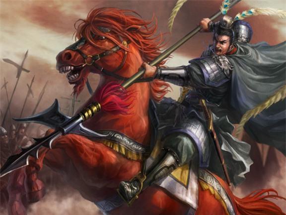 Tạo hình chung của chiến thần Lữ Bố trong rất nhiều ấn phẩm văn hóa hiện đại.