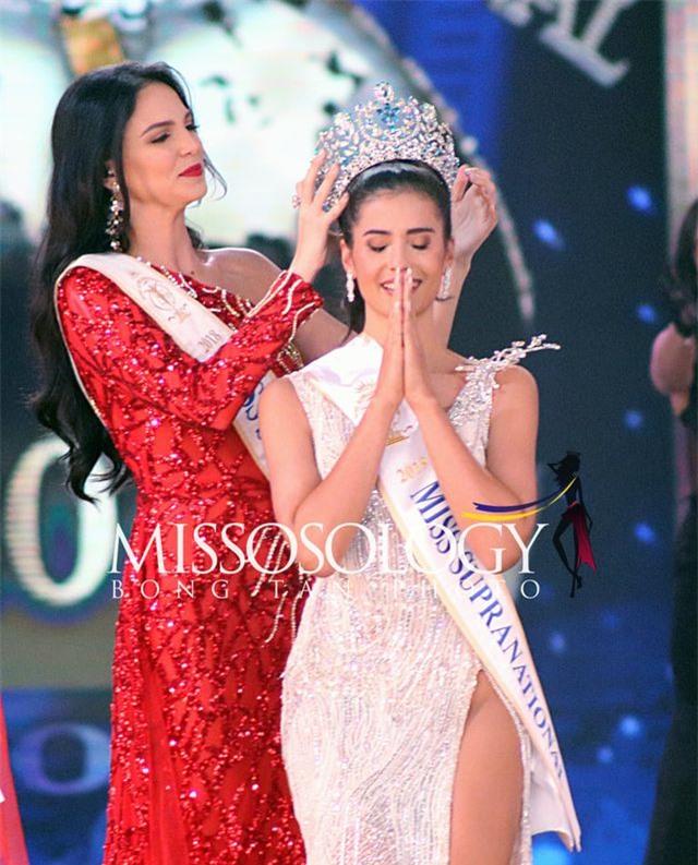 Người đẹp Thái Lan đăng quang, Ngọc Châu lọt top 10 Hoa hậu Siêu quốc gia 2019 - 1