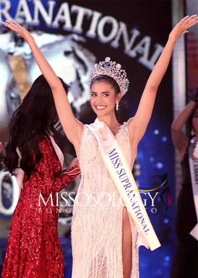 Người đẹp Thái Lan đăng quang, Ngọc Châu lọt top 10 Hoa hậu Siêu quốc gia 2019 - 2