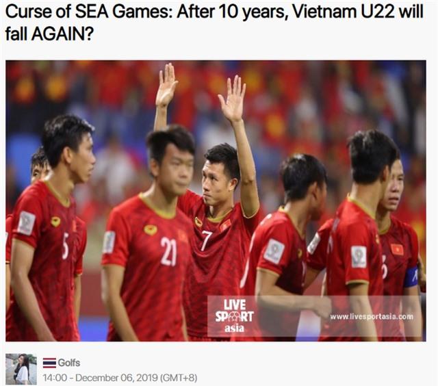 Nhà báo Thái Lan dự đoán U22 Việt Nam không thể giành HCV - 1