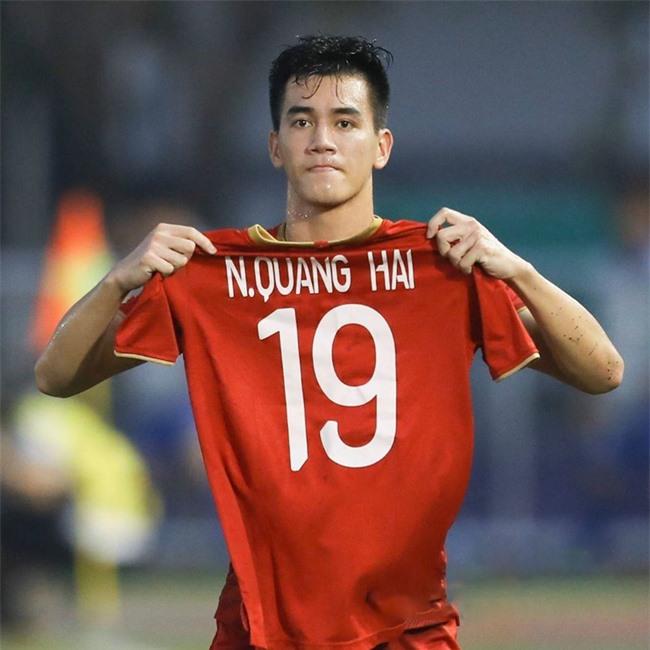 Quang Hải không kìm được xúc động trong trận gặp U22 Thái Lan - ảnh 1