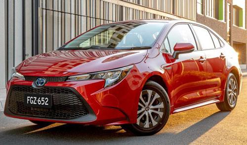 Cận cảnh Toyota Corolla 2020