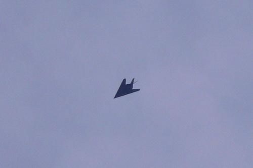 Mặc dù đã loại biên nhưng thực chất Không quân Mỹ vẫn âm thầm sử dụng F-117 Night Hawk. Ảnh: National Interest.