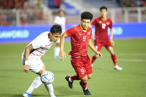 """Hà Đức Chinh: """"Gặp U22 Indonesia ở chung kết sẽ là trận đấu khác"""""""