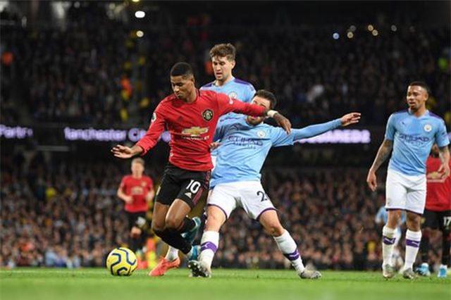 Man City 1-2 Man Utd: Rashford, Martial lập công - 2
