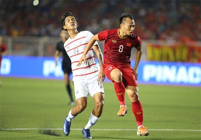 U22 Việt Nam nhận quà của HLV Park Hang Seo sau trận thắng Campuchia - 2