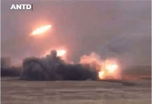 TOS-1A khai hỏa