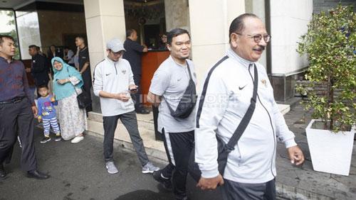 Đội ngũ bác sỹ của U22 Indonesia