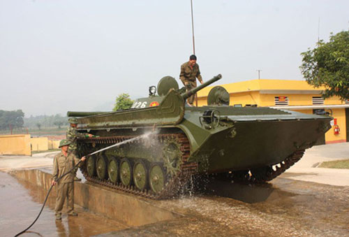 """BMP-1 Việt Nam được lắp """"pháo lủi"""", không ngại đối đầu xe tăng chủ lực"""