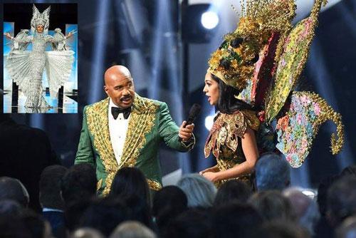 Nghi vấn MC công bố nhầm kết quả tại chung kết Hoa hậu Hoàn vũ 2019