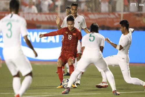 U22 Indonesia thắng 4 trận ở vòng bảng và chỉ nhận thất bại trước U22 Việt Nam.