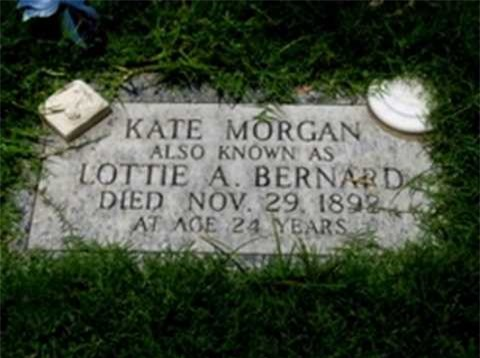 Bia mộ được cho là của Kate Morgan