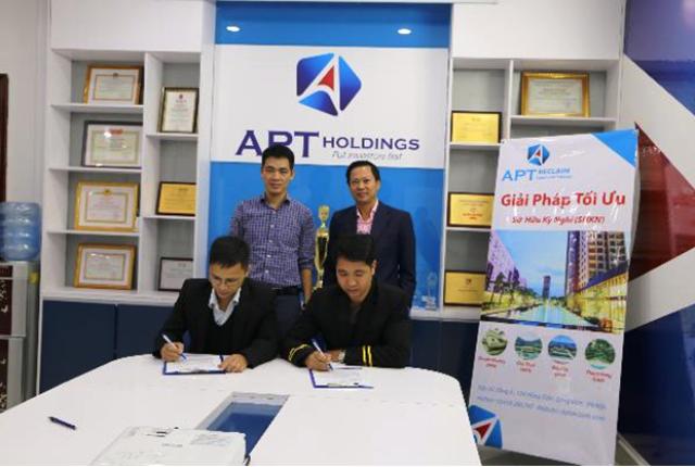 Lễ ký kết hợp tác giữa Asiarcar và Unicar