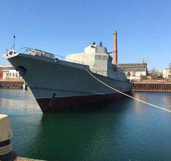 Những tàu hộ vệ tên lửa mới nhất được đóng theo Đề án 22800 của Nga vừa mới được hạ thuỷ. Đây là những tàu hộ vệ tên lửa nhỏ bậc nhất trong biên chế Hải quân Nga, có độ giãn nước chỉ 800 tấn. Nguồn ảnh: Livejournal.