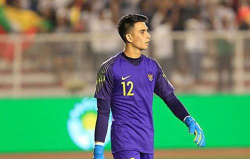 """Thủ môn U22 Indonesia phát biểu """"sốc"""" trước trận chung kết"""