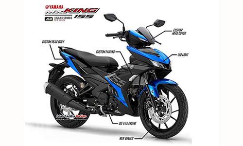 Yamaha Exciter hoàn toàn mới sẽ mạnh hơn Honda Winner